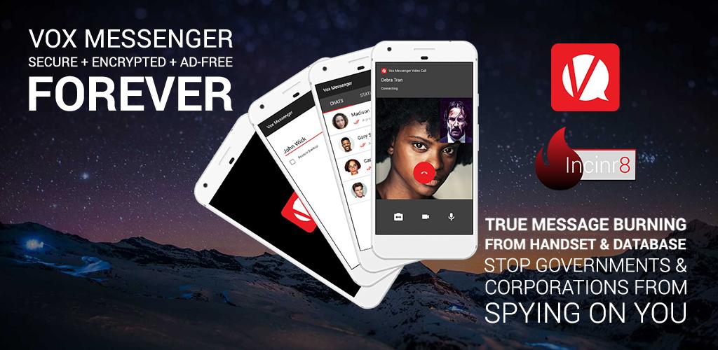 Vox Messenger - Secure + Encrypted + Ad-Free - Forever